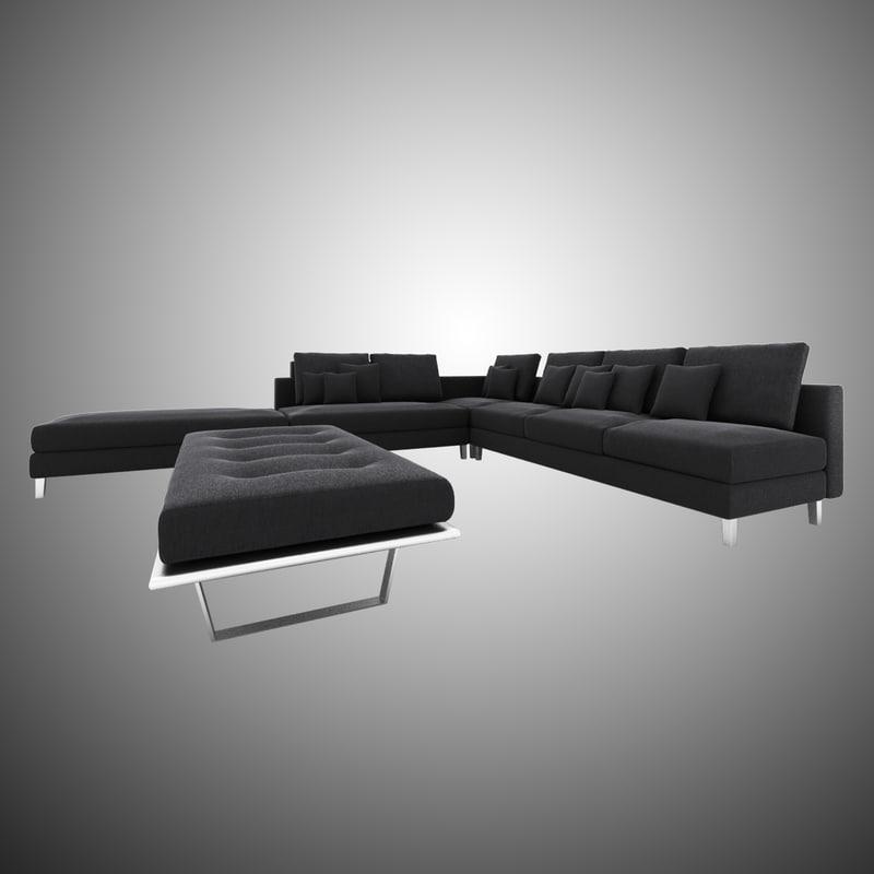 dark grey sofa fabric max