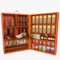 Portable Chemist Box
