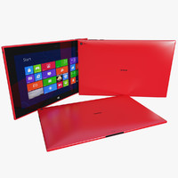 Nokia Lumia 2520 Red Version