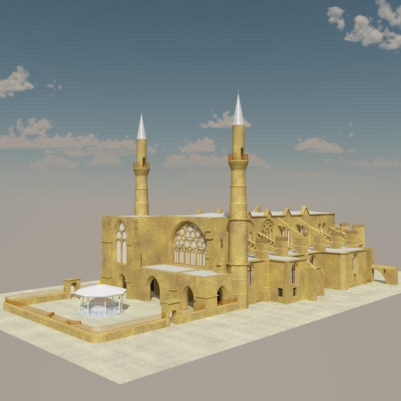 3d selimiye mosque