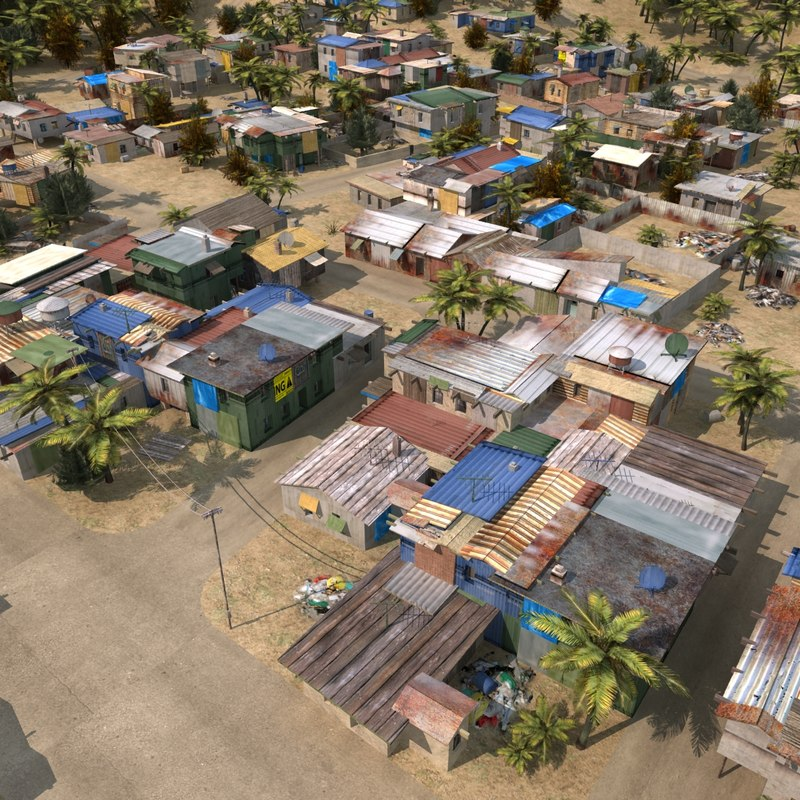 slum town 3ds