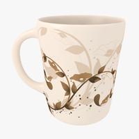 3dsmax coffee cup mug
