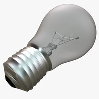3d light bulb lightbulb