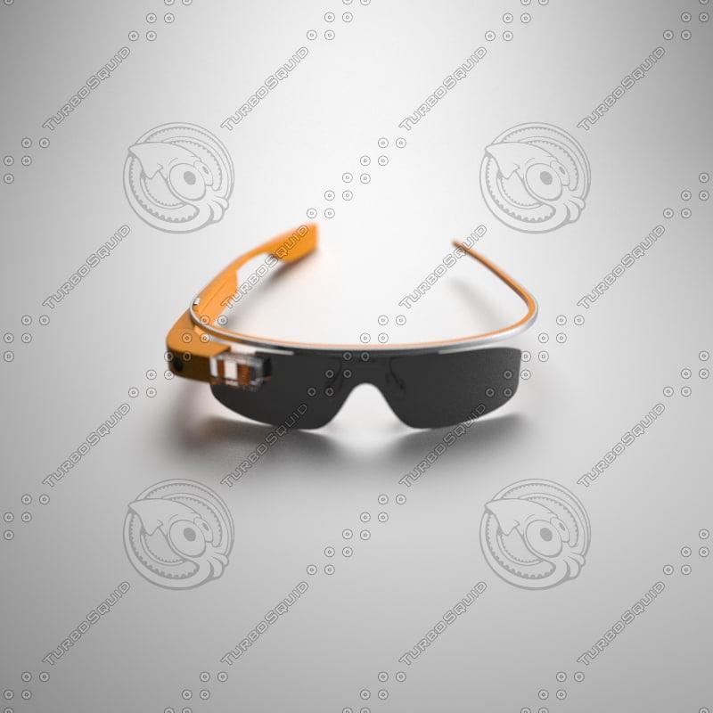 3ds max google glass