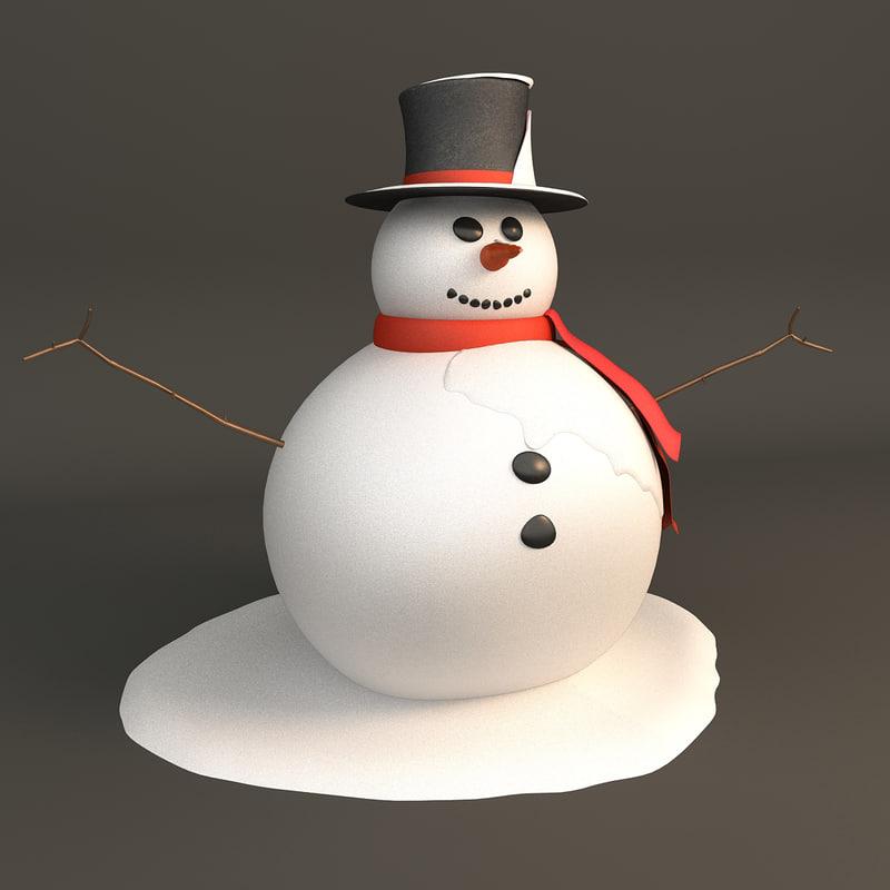 max frosty snowman