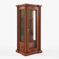 3dsmax gun cabinet