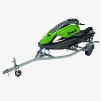 Trailer Jet Ski Kawasaki 800