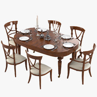 Galimberti Nino Dining Furniture Set