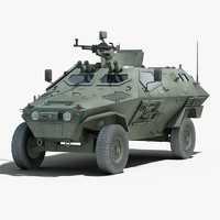 Otokar Cobra Armored  Vehicle