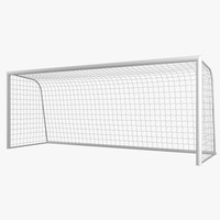 3d model of soccer goal