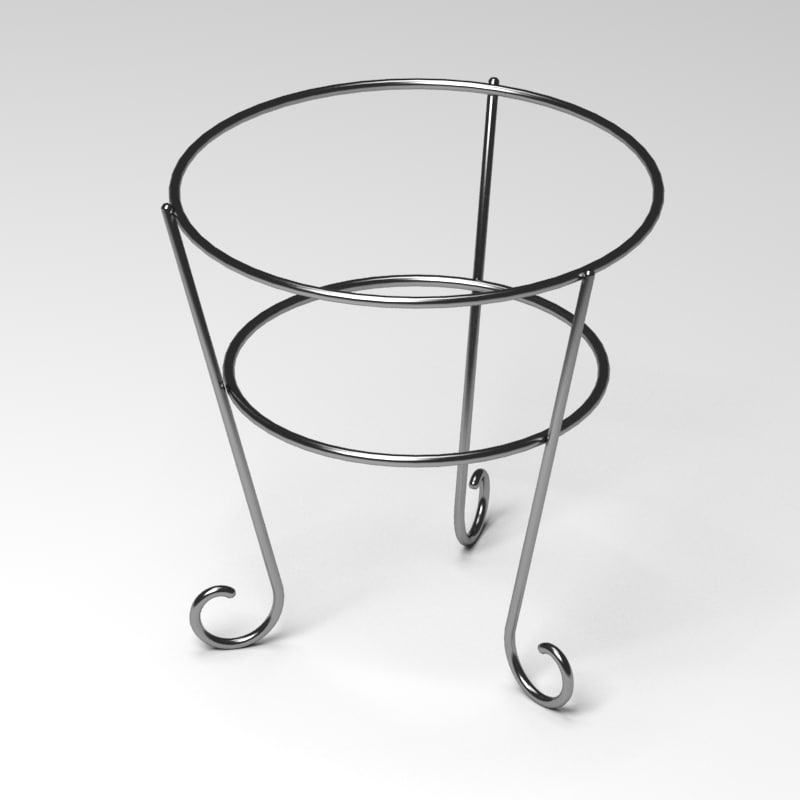 flower pot support 3d model