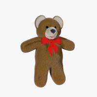 bear fur 3d model
