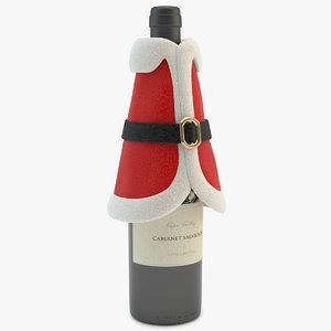 bottle decoration coat max