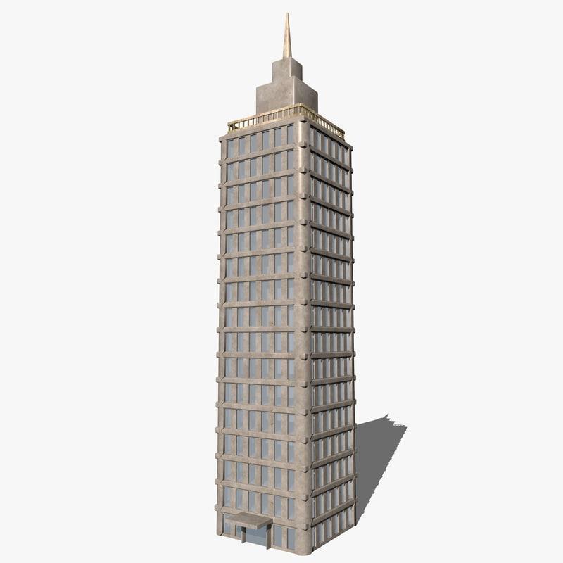 buildings skyscraper 3d model