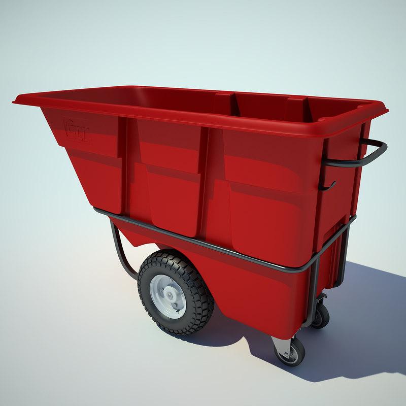 plastic tilt truck