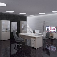 3ds max office design