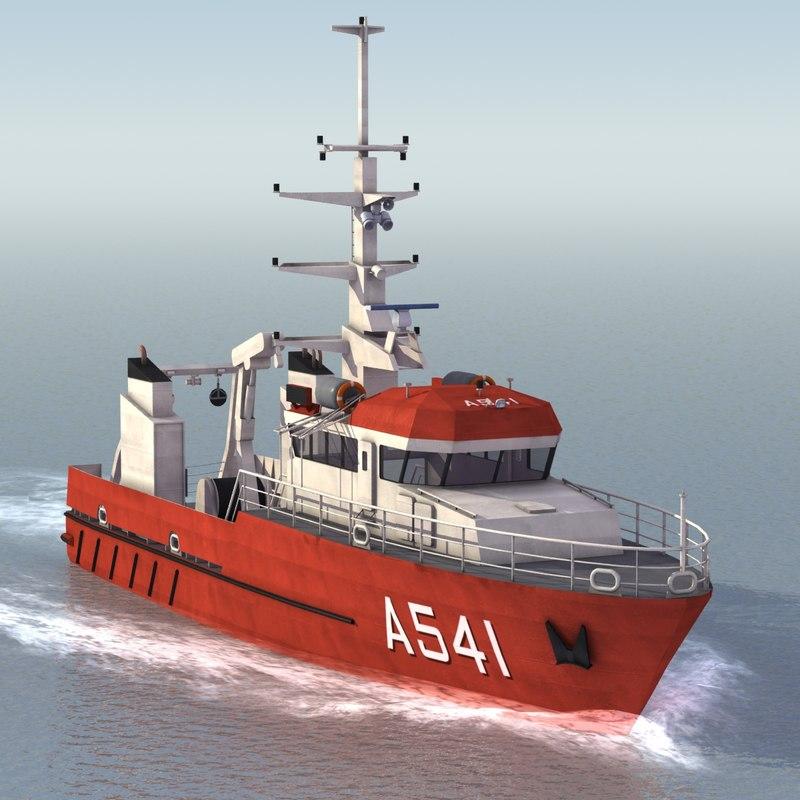 birkholm class 3d model