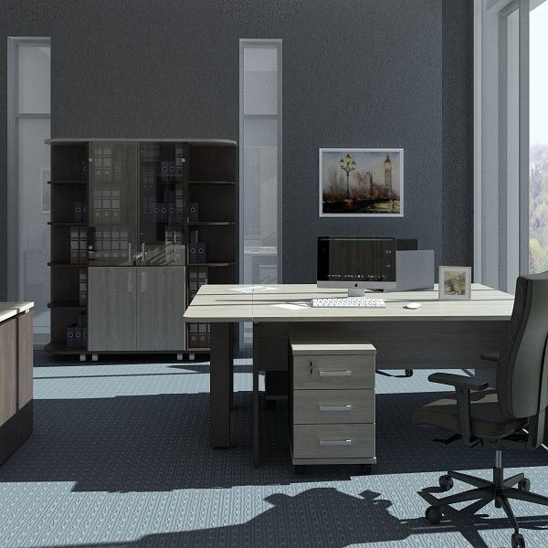 3d obj office design