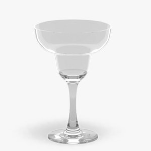 margarita glass liquid 3d max