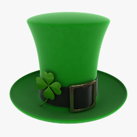 3d model st patricks day