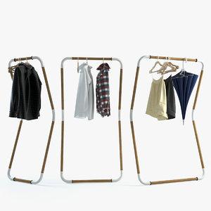 jeroen woodstock wardrobe 3d max