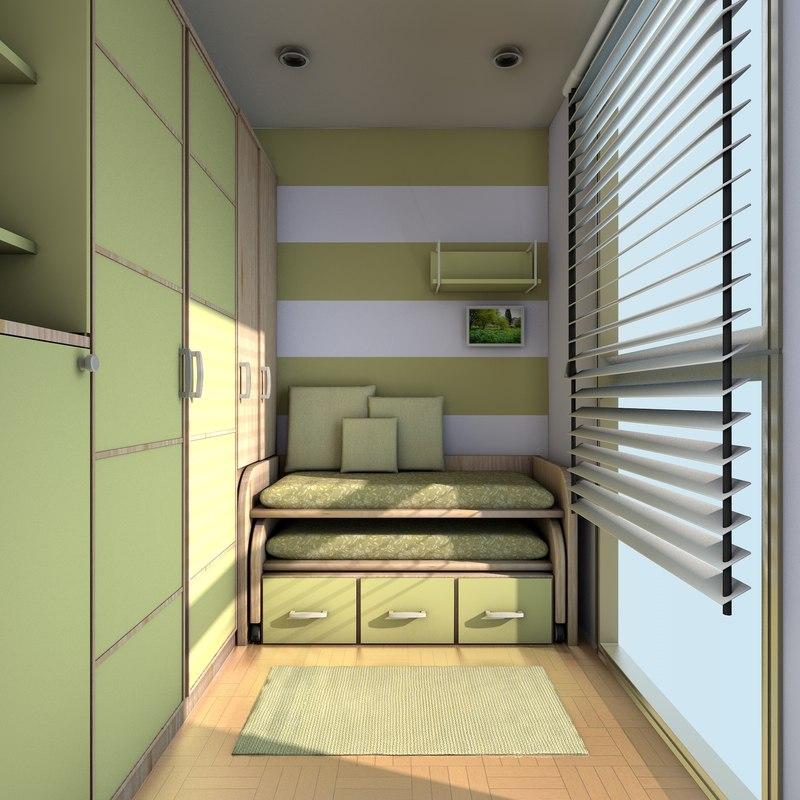 room compact 3d model