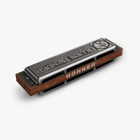 hohner blues bender 3d max