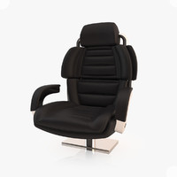yacht captain chair 3d max