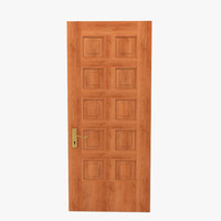 paneled door wood max