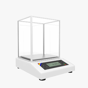 analytical balance 3ds