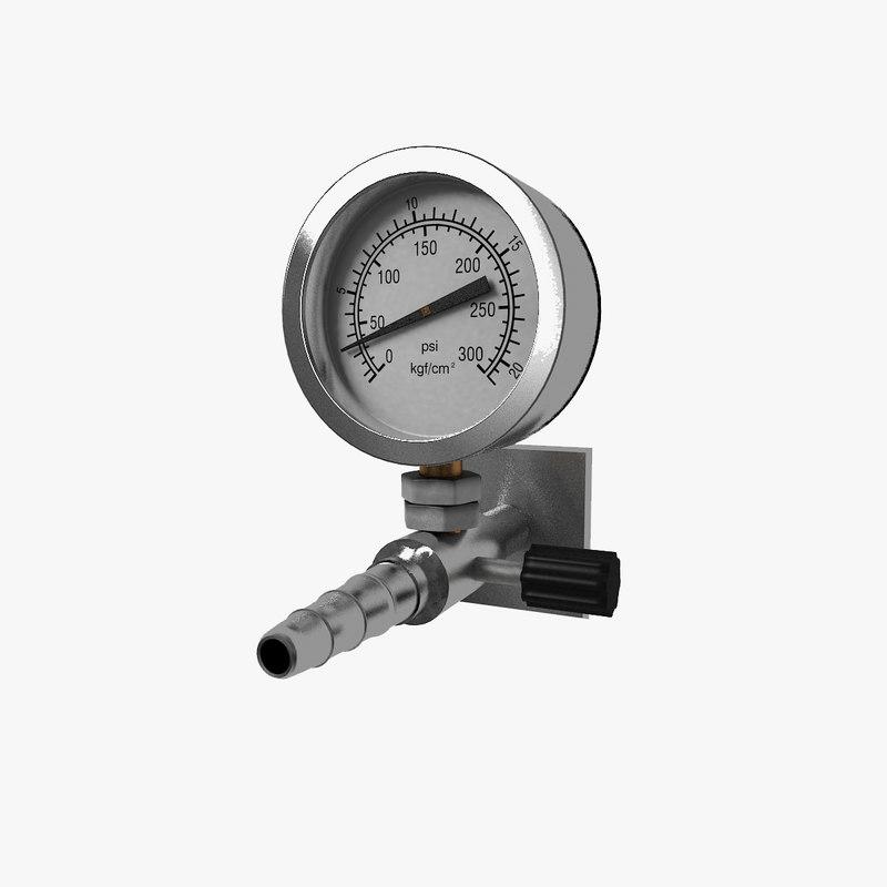 3ds max pressure meter gauge