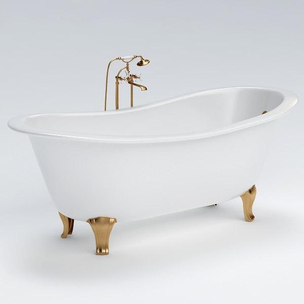bath 3d max