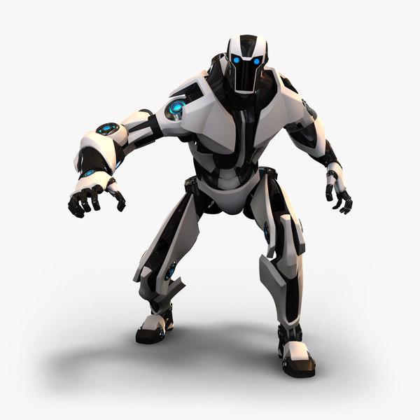 maya humanoid robot rig