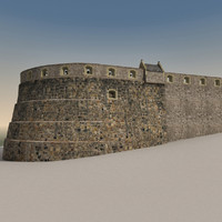 3d edinburgh castle model