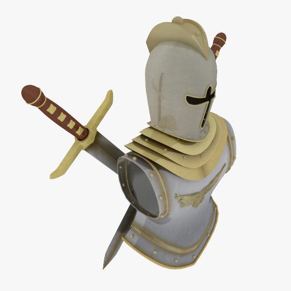 3d model decor armour