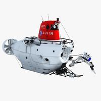 3d alvin deep model