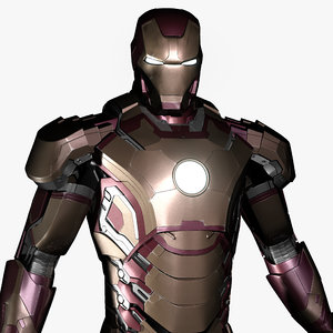 ironman mark 42 obj