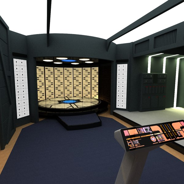 max enterprise d transporter room