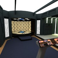 Enterprise D Transporter Room