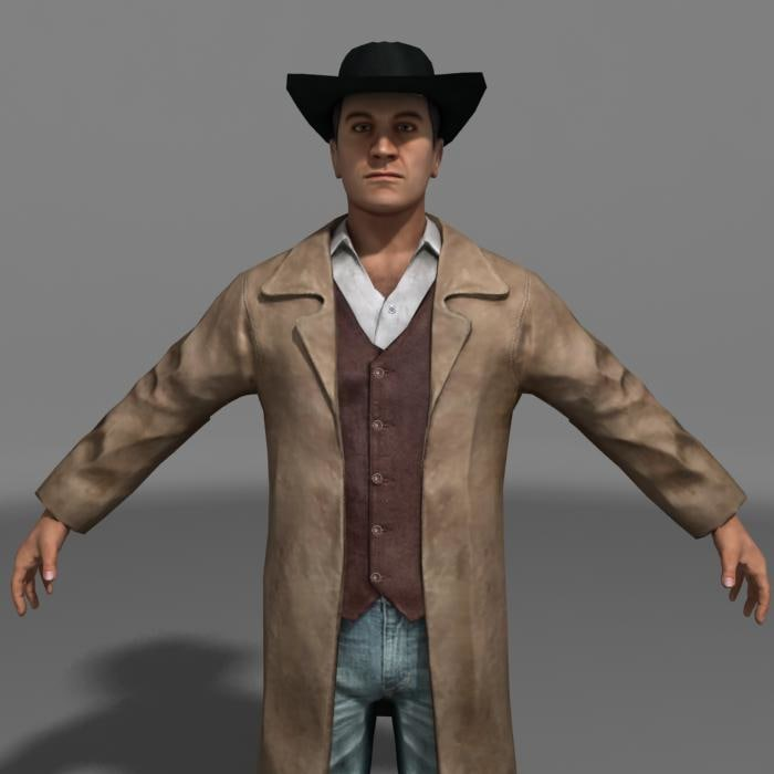 3ds max rigged character
