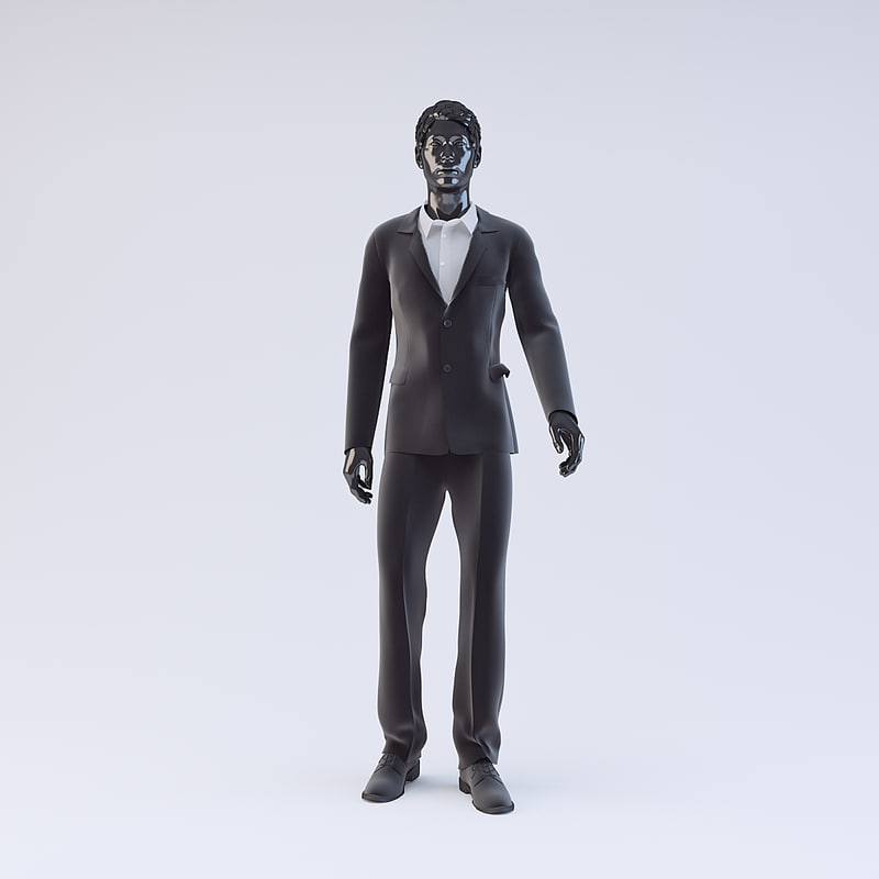 showroom mannequin male 018 3ds