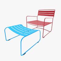 fermob chair surprising 3d model