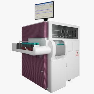 diagnostica stago sta-r 3d model