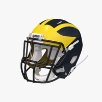 football helmet 3d 3ds