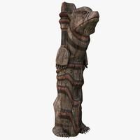 Totem Pole Bear