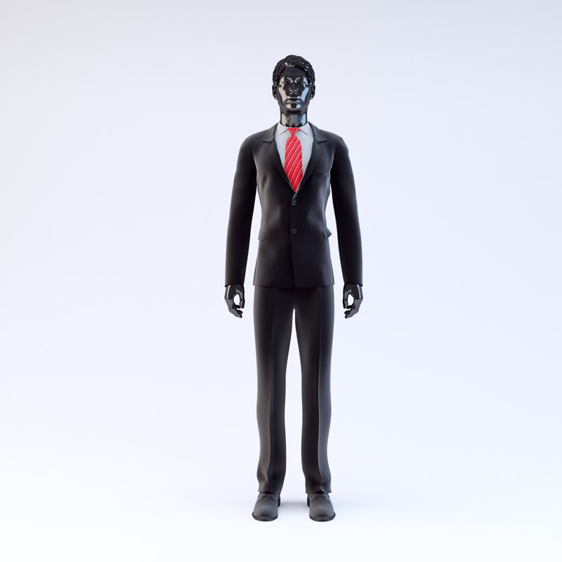 3d showroom mannequin male 022