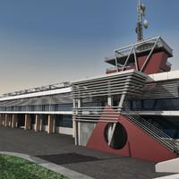 Modern Building 038