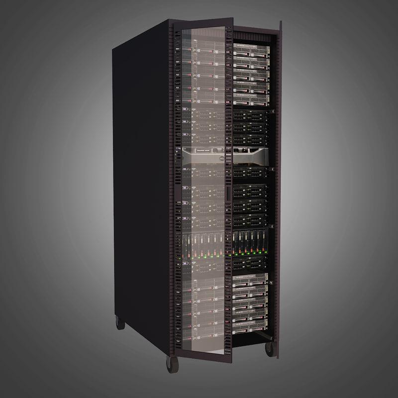 3ds rack server computer
