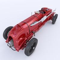 3d bentley birkin blower 1929 model