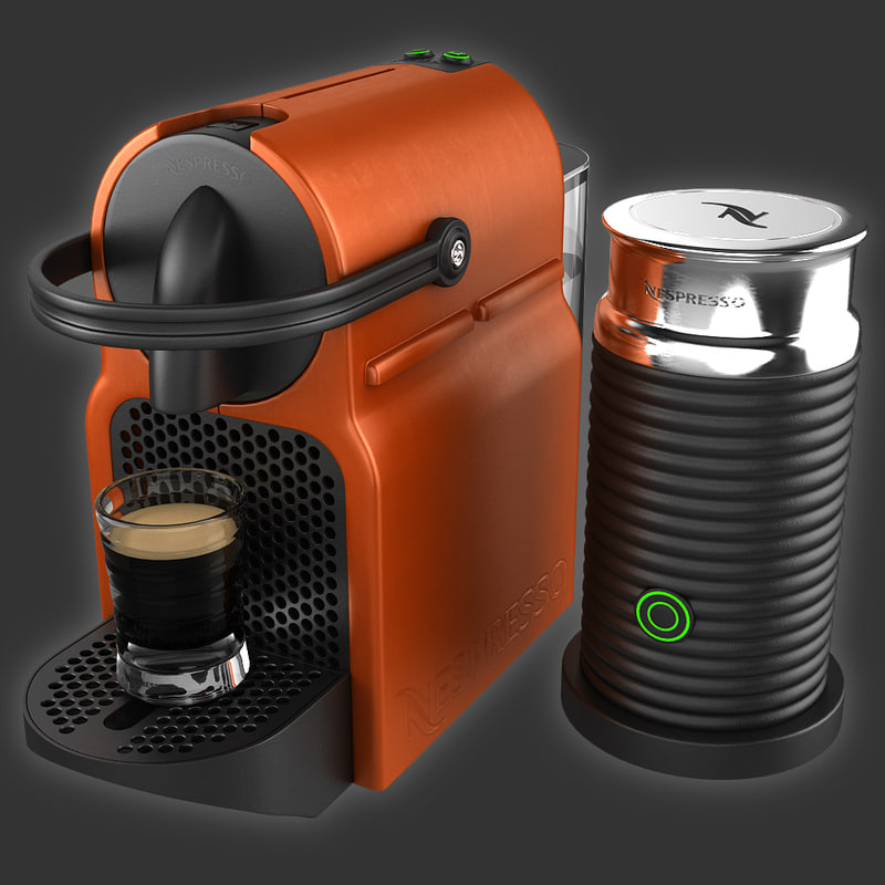 3d coffeemaker nespresso inissia magimix. Black Bedroom Furniture Sets. Home Design Ideas